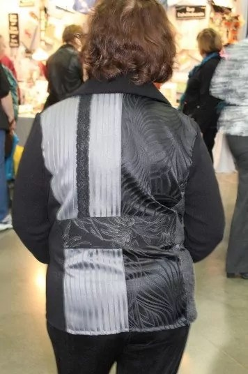 'Shades of Gray' Back View, Sewing and Stitchery Expo 2013, Puyallup, WA