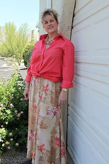 Six Gore Skirt from Loes Hinse