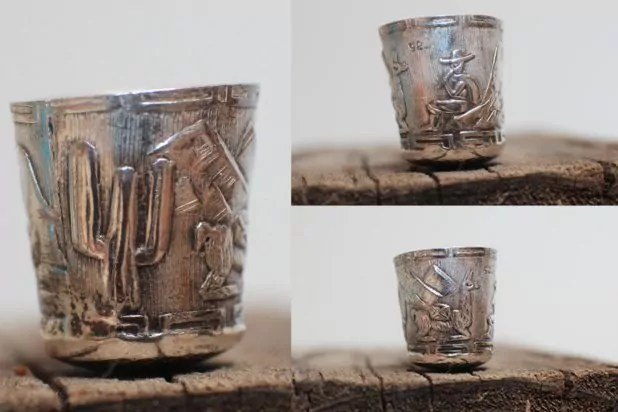Sterling silver thimble from Japan