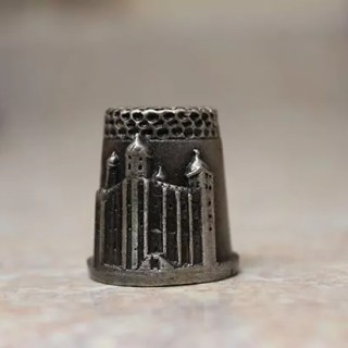 Pewter thimble, Tower of London