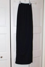 Black Maxi Skirt (self drafted)