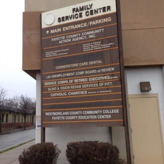 Fayette County Community Action Building C Sign
