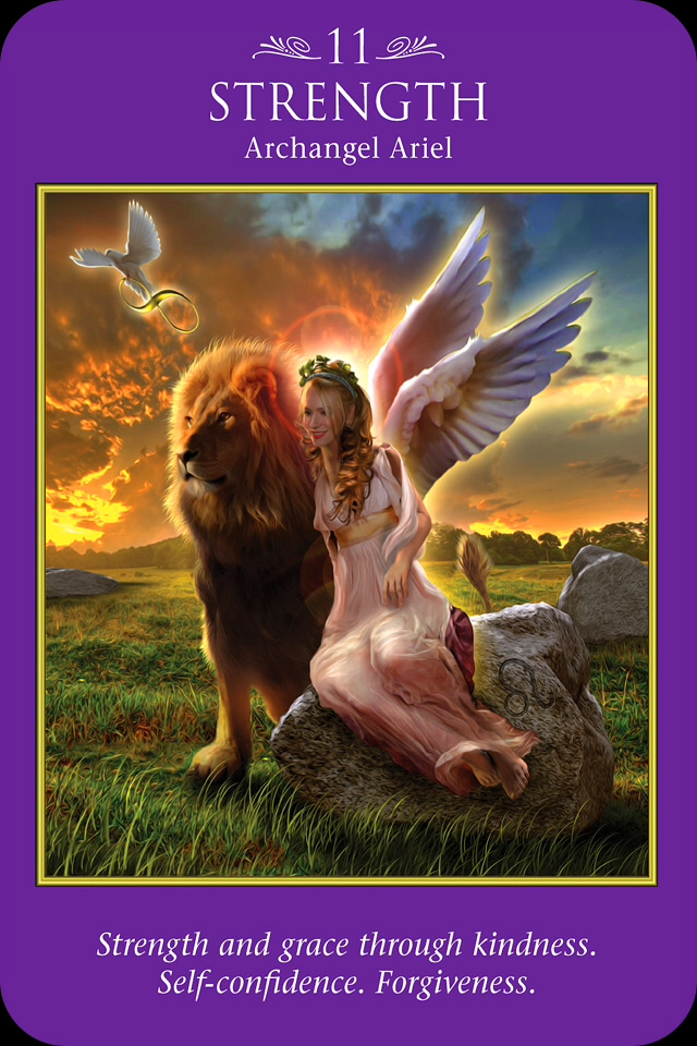 Archangel Ariel Strength Archangel Oracle Divine Guidance