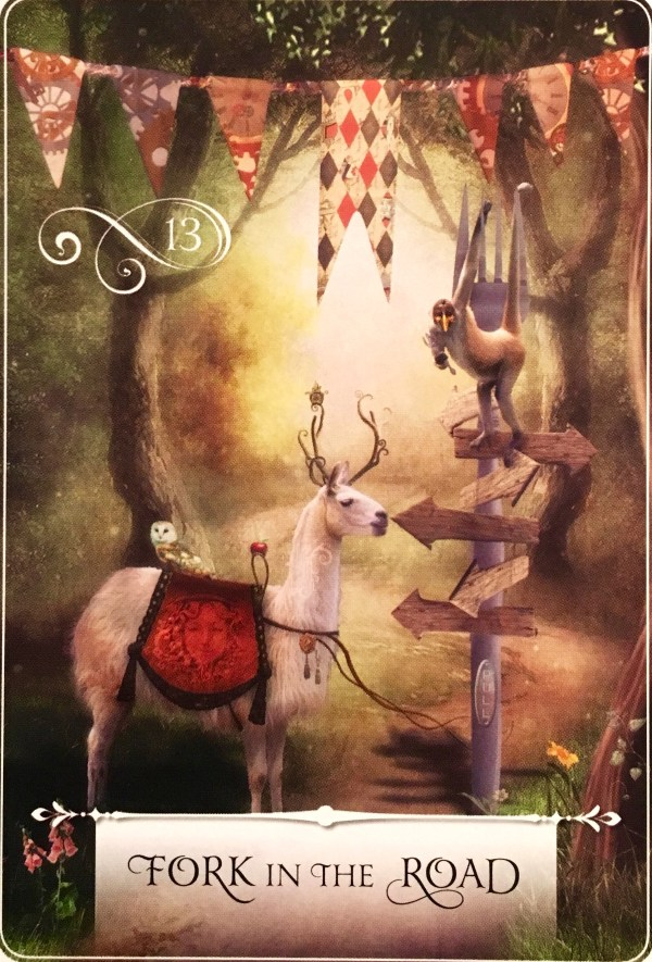 Fork In The Road Archangel Oracle Divine Guidance