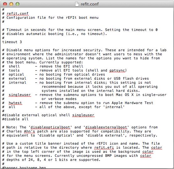 Arranca Live USB y Linux mbr en Mac OS X Apple con rEFIt. (5/5)