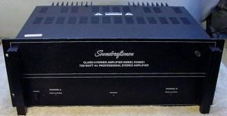 Soundcraftsmen 6501 Stereo Power Amplifier
