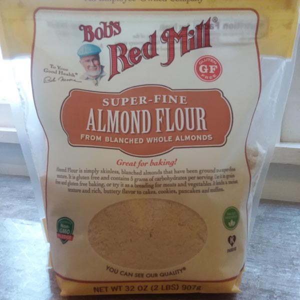 ALMOND FLOUR that Deej uses