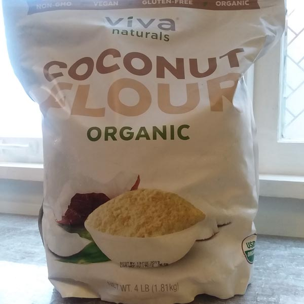 COCONUT FLOUR that Deej uses