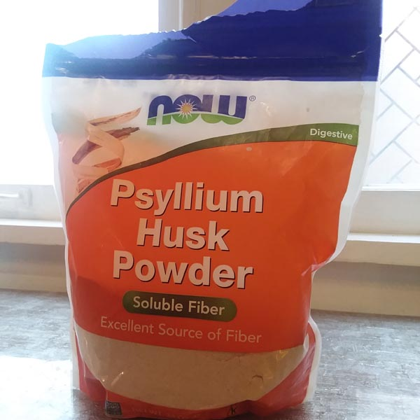 PSYLLIUM HUSK that Deej uses