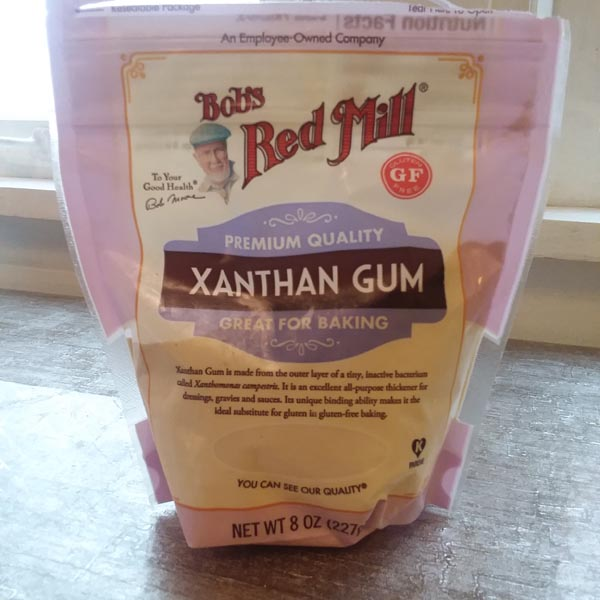 XANTHAM GUM that Deej uses