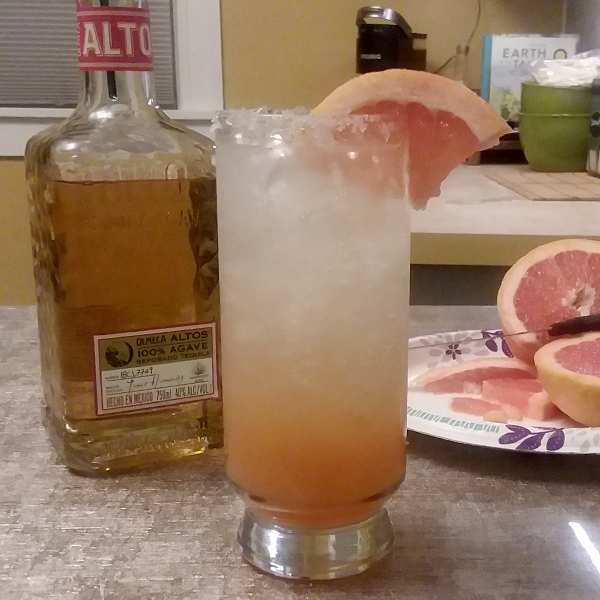 Mezcal Paloma by DEEJ DOES