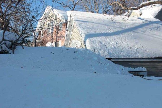 snow bank-winter2015
