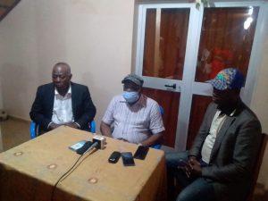 Non – tenue des combats professionnels de boxe à Parakou, le président de la Fédération Béninoise de Boxe face à la presse