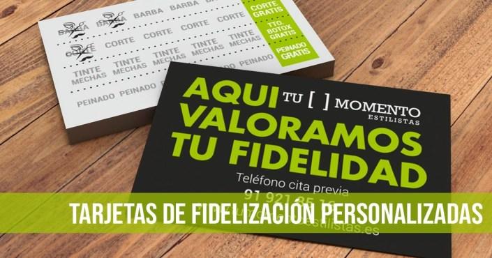 TARJETAS DE FIDELIZACIÓN PERSONALIZADAS TU MOMENTO IMAGEN DESTACADA