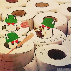 Toilet Paper Fortress
