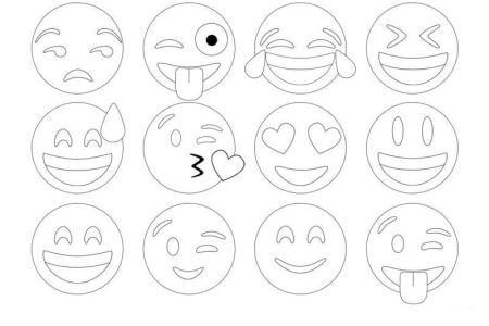 Resultado De Imagen Para Emoticones Para Colorear Wallpaperzenorg