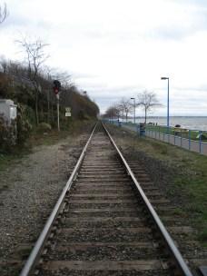 Train tracks, White Rock, BC