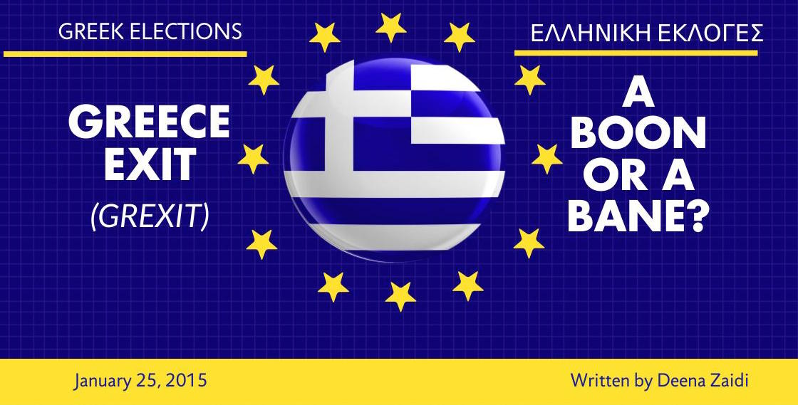 Greece Exit (GREXIT) – A Boon Or A Bane?