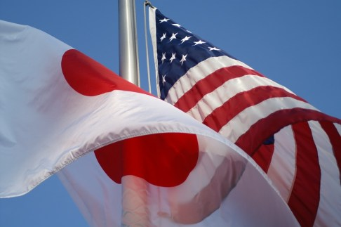 Japan-US-Flag