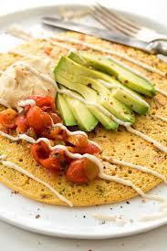 Savoury Chickpea Pancakes