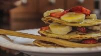 Sweet Chickpea Pancakes