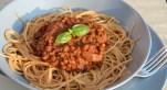 Lentil Bolognaise