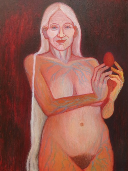 Mary Magdalene inhabits the space between old age and mortality with wisdom and grace.
