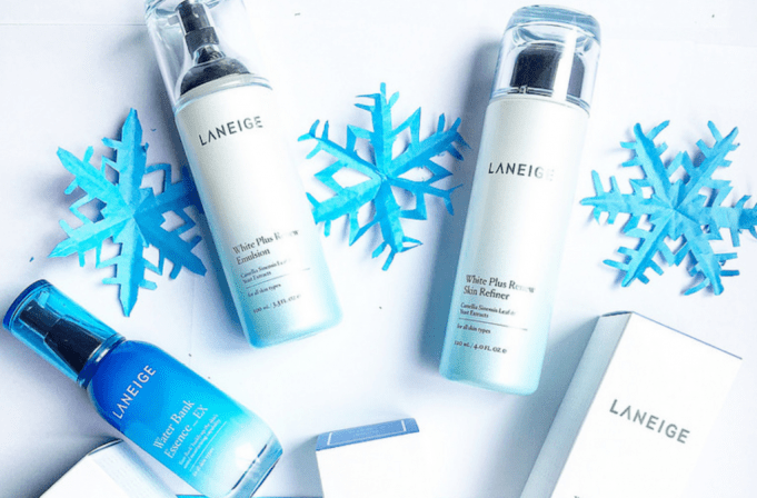 Laneige Review: White Plus Renew + Water Bank Essence