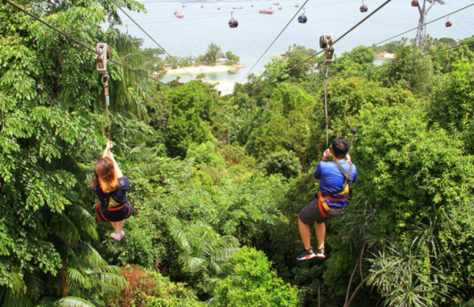 An Adventurous Day-out at Sentosa