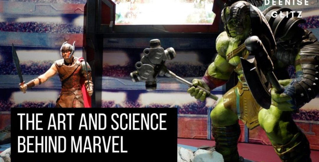 The Art and Science of Marvel Avengers