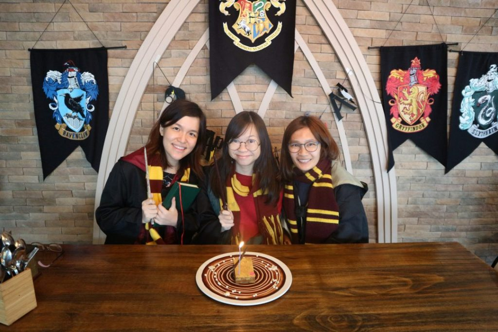 Celebrating a Harry Potter-themed Birthday at Platform 1094