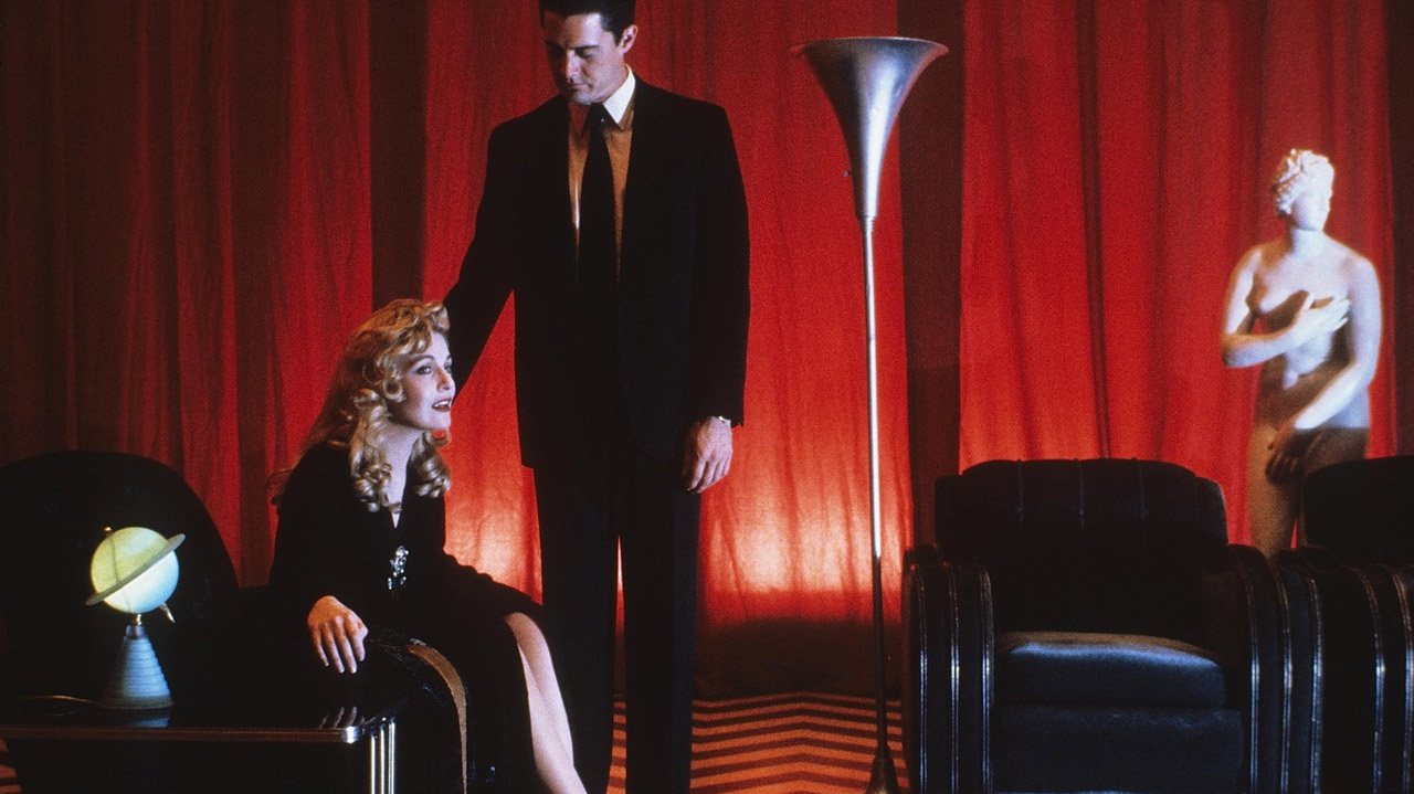Sheryl Lee and Kyle MacLachlan