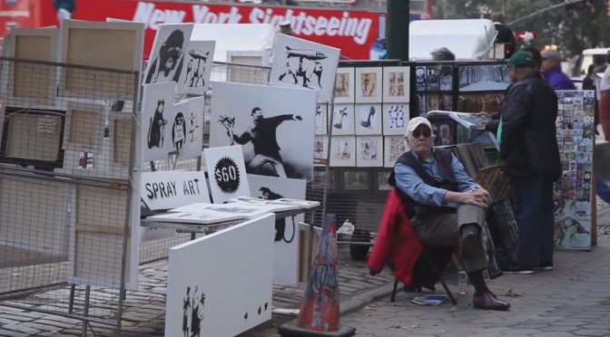 Spray Art for sale in Banksy Does New York
