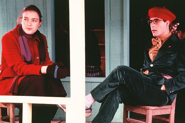 Olivia Williams and Jason Schwartzman in Rushmore