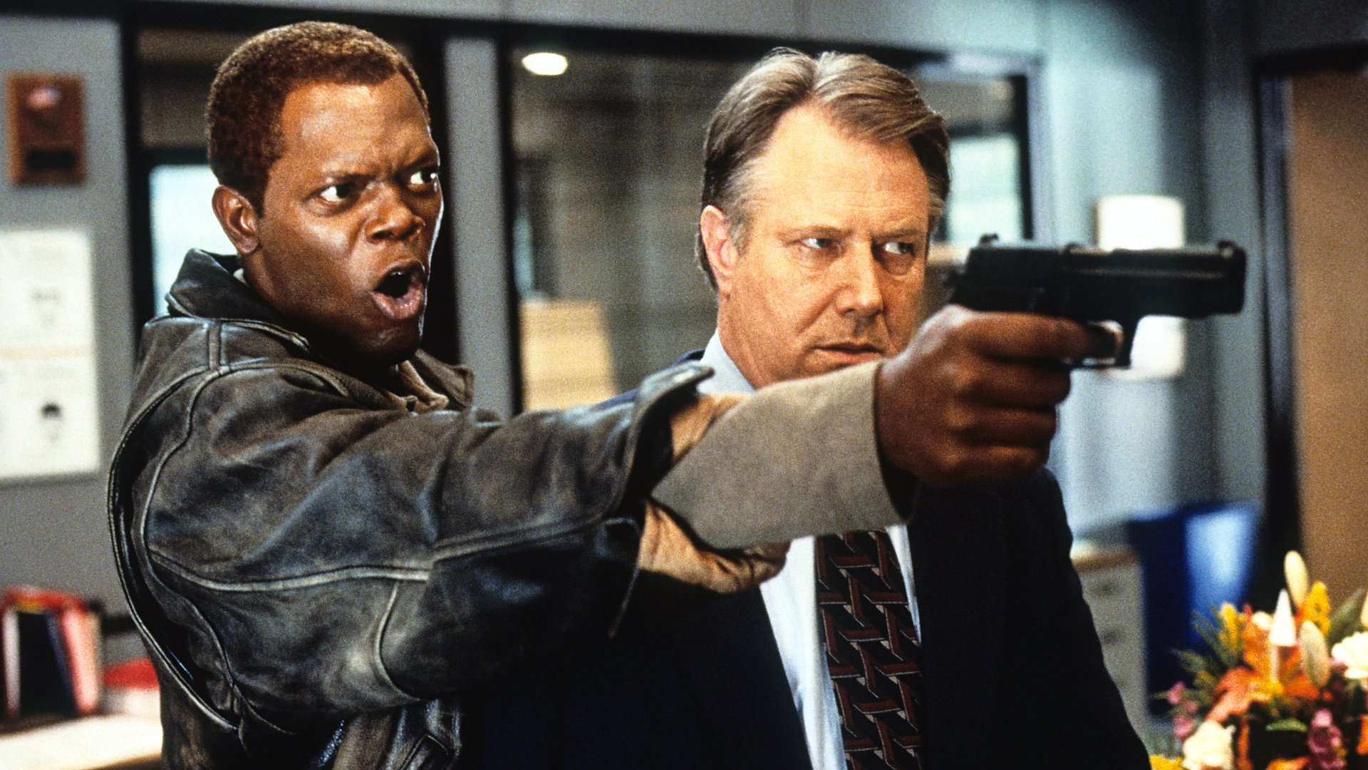 Samuel Jackson in The Negotiator