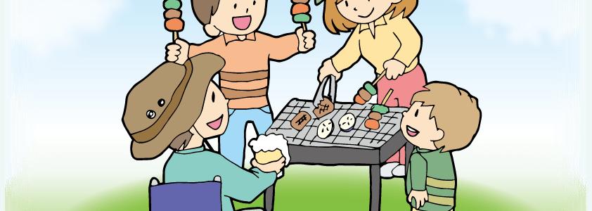 BBQ道具のワンコインレンタル!