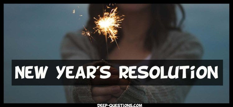 New year resolutions on questions to ask a girl