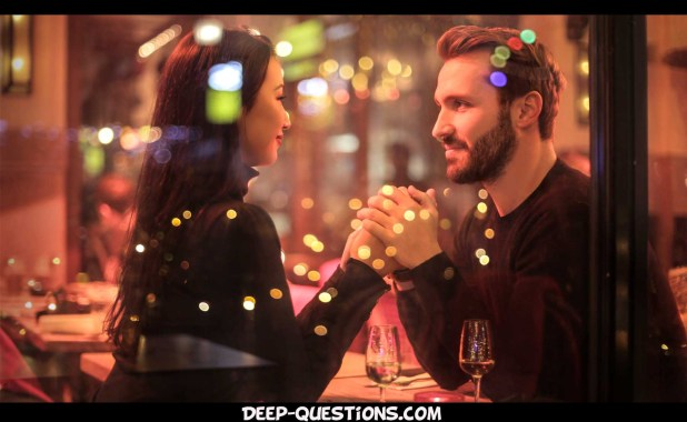 Couple on personal questions to ask a guy