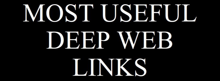 Deep Web Links | Deep web sites – 1000 working deep web links