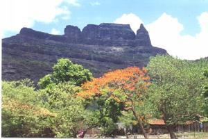 View of Malang gad from the base
