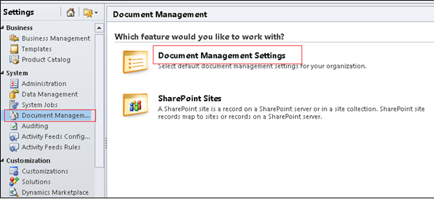 SharePoint Integration with CRM 2011 (1/6)
