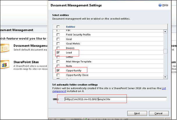 SharePoint Integration with CRM 2011 (2/6)