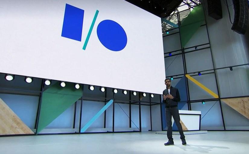 Google I/O 2017 vs Pupa Clic
