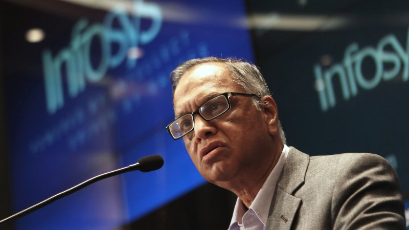 Mr Narayan Murthy's email to all Infosys employees