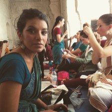 Makeup workshop at Shakti School of Dance