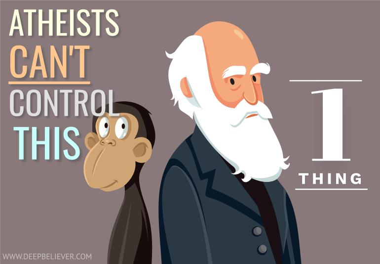 There's One Thing An Atheist Has No Control Over
