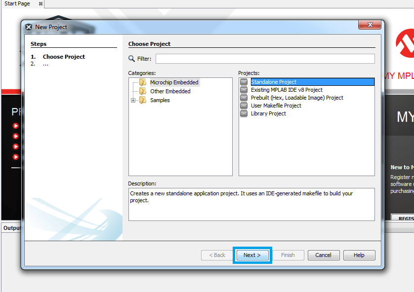 Create a new embedded project with MPLAB IDE - PIC Tutorials
