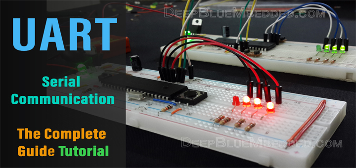 UART | Serial Communication With PIC Microcontrollers Tutorial