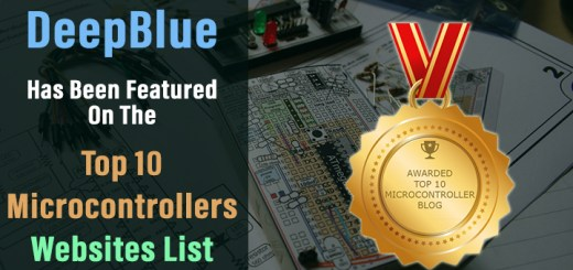 DeepBlue On The Top 10 Microcontroller Websites List