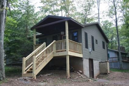 Alpine Lake Resort Cabin Addition